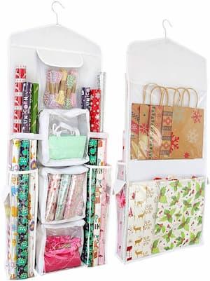 Hanging Gift Wrap Organizer (resized)