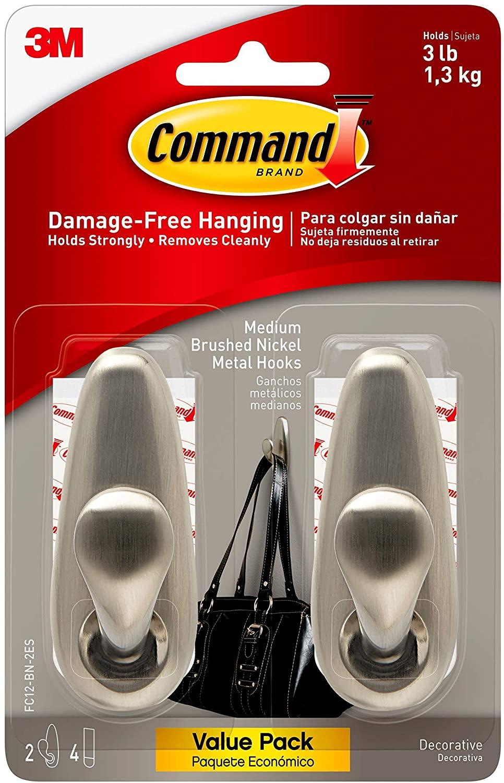Command coat hooks