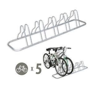 5 Bike Bicycle Floor Rack