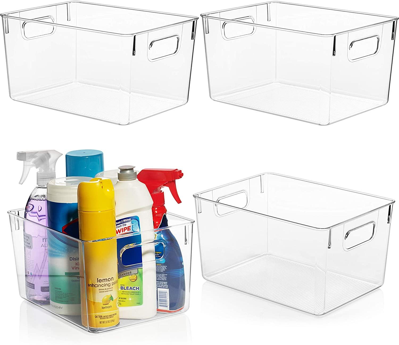 clear bins