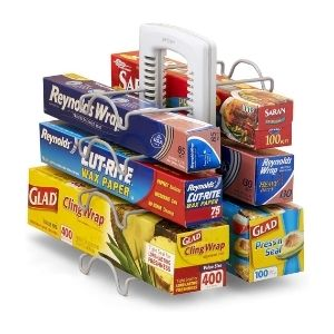 Kitchen Wrap Organizer
