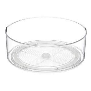Round Plastic Lazy Susan Turntable